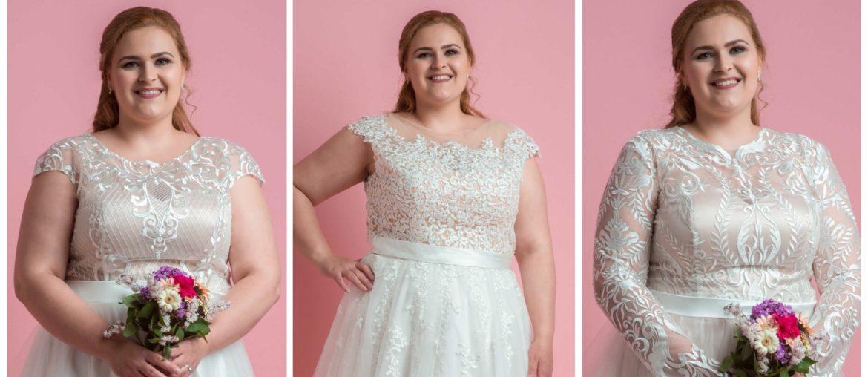 Molett esküvői ruha
